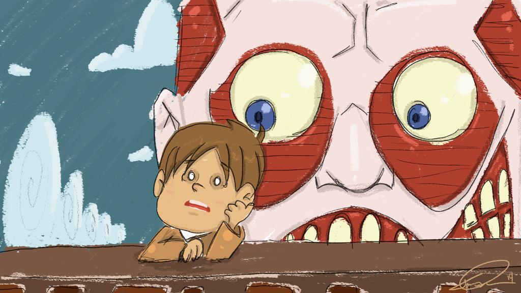 Attack on Titan by RetroSleep