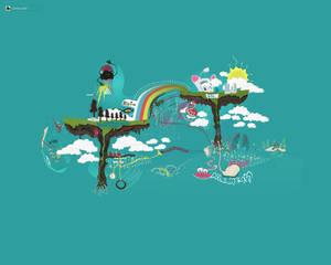 floating trees WP