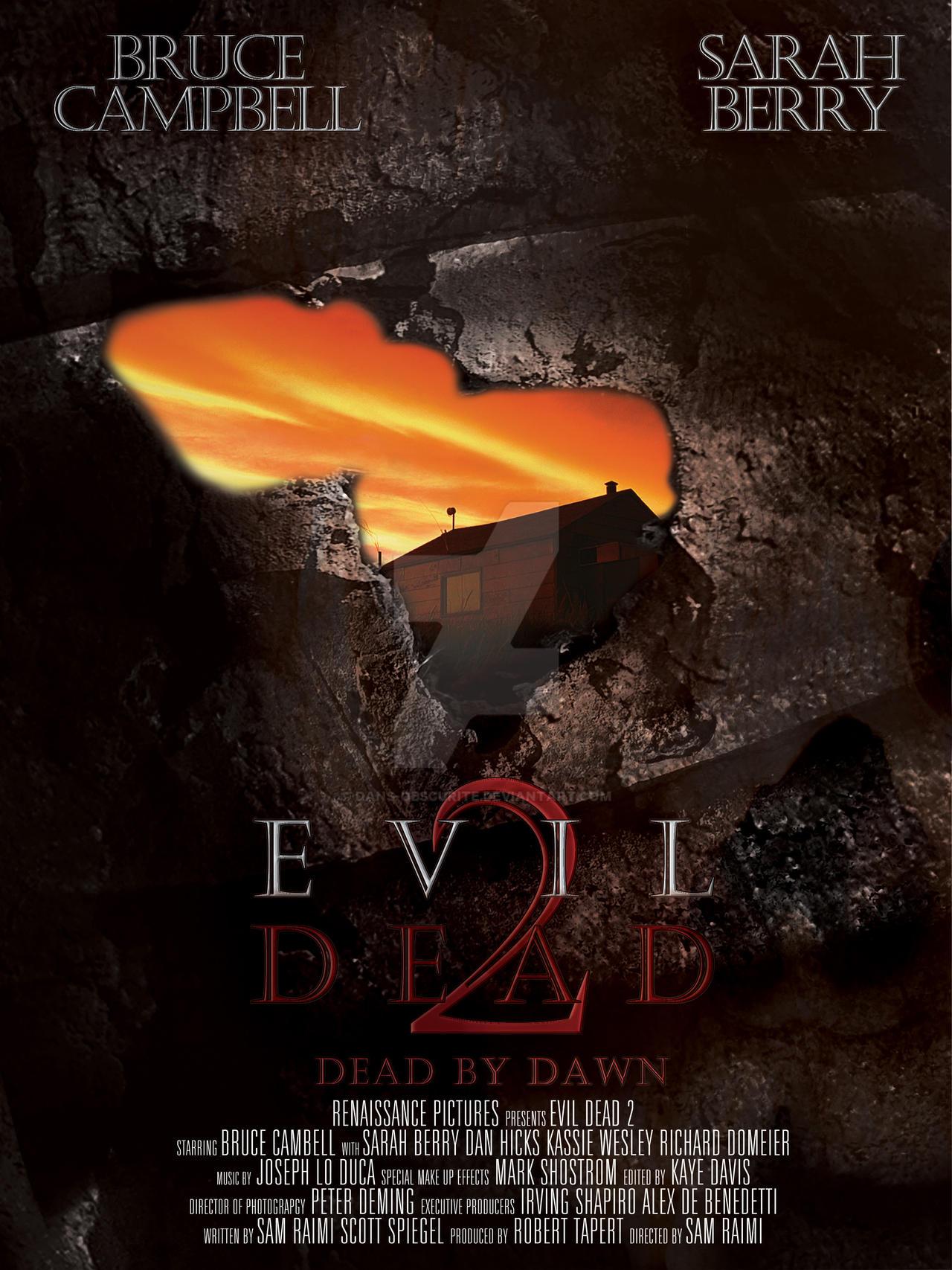 Evil Dead 2 Movie Poster