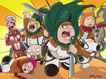 Attack on Family Guy