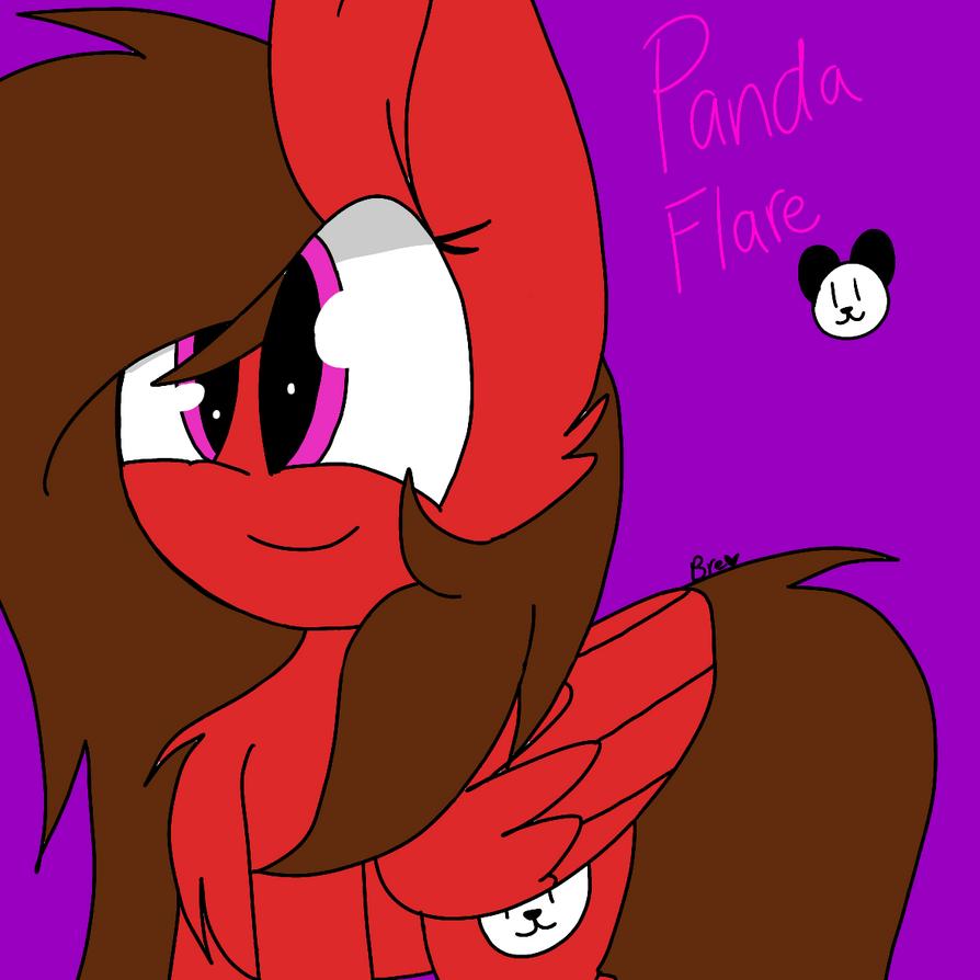 Panda Flare (My First main oc) by CircusPaparazzi5678