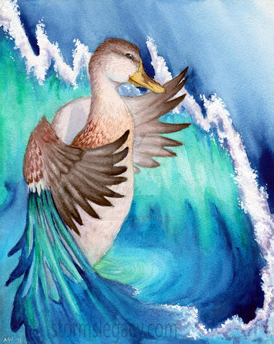 Mallard Dreams by Stormslegacy