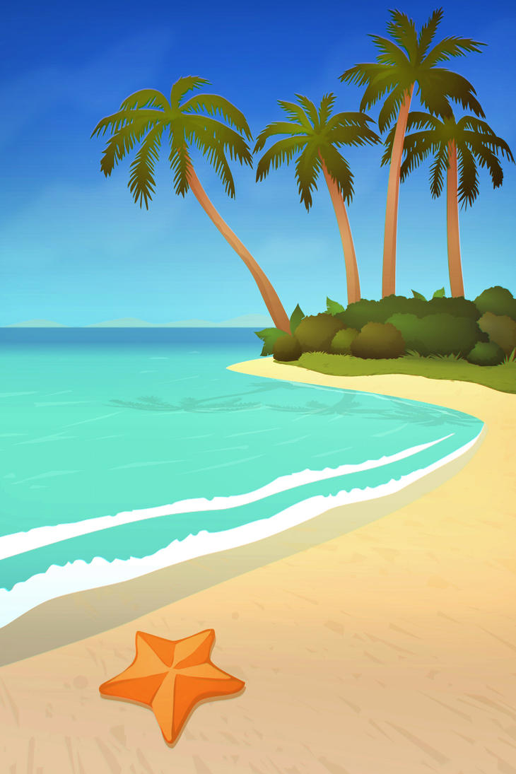 sea bed beach vector - photo #31