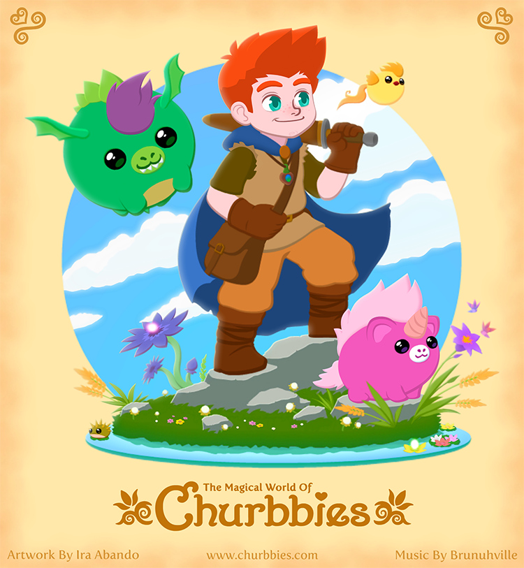 Damius and the Churbbies by liquidcrow