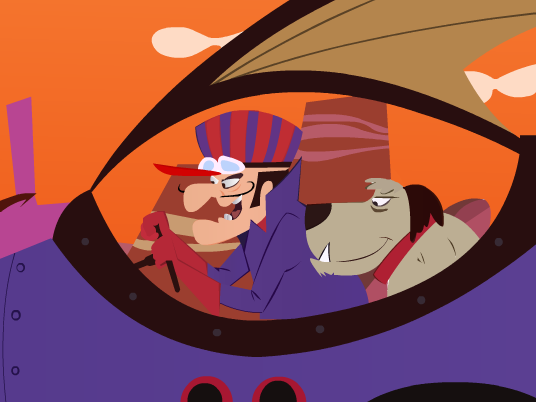 Wacky races mean machine by ahmednayyer on deviantart for Wacky wallpaper