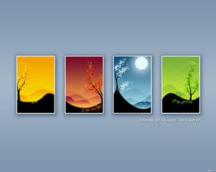 'Change Of Seasons' - Blue by RadishTM