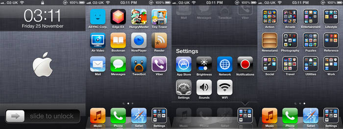 iPhone 4 as of 25-11-11