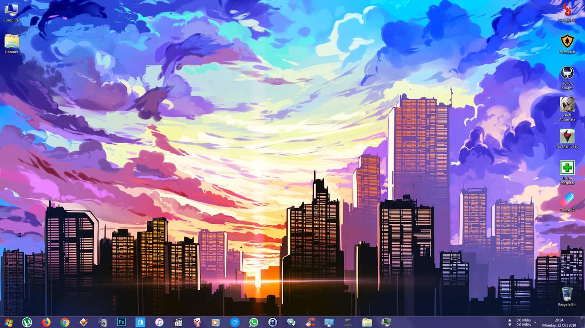Windows Desktop as of 22-10-18