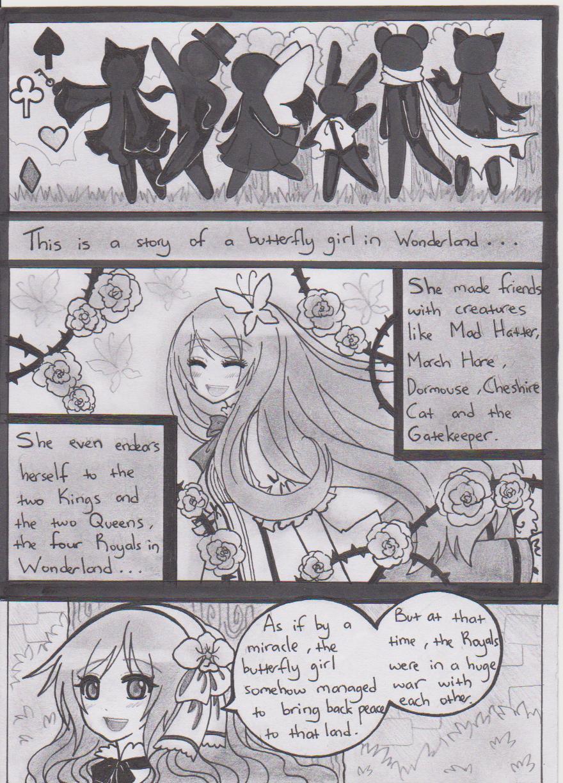Flowers in Wonderland 1 by TsukiREN96