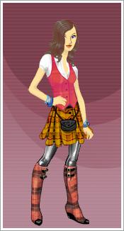 carly on jojos fashion show by bizzeebee