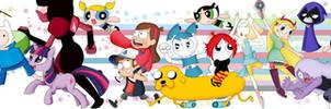 My Favorite Cartoon Allstar by GARAMMASARA