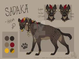 Sadaka - Reference sheet