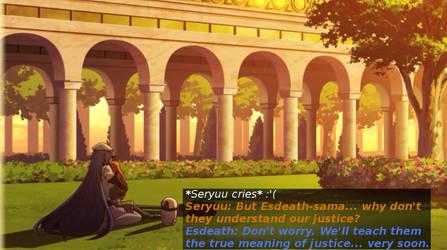 Akame ga Kill - Seryuu and Esdeath by H2-Flow