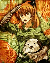 Akame ga Kill - Seryuu - Smartphone Wallpaper v3 by H2-Flow