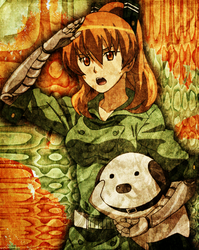 Akame ga Kill - Seryuu - Smartphone Wallpaper v4 by H2-Flow
