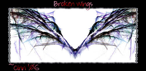 Broken Wings by Wicked-CINN-Art
