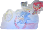 Sonic Tails And Knuckles 2