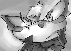 Random Sketch- Wrong Move ::KYZU:: by DLN-00X