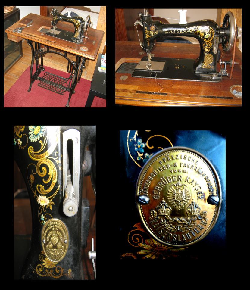 antike nähmaschine von kayser  hobbyschneiderin 24  forum ~ Nähmaschine Zieht Unterfaden Nicht