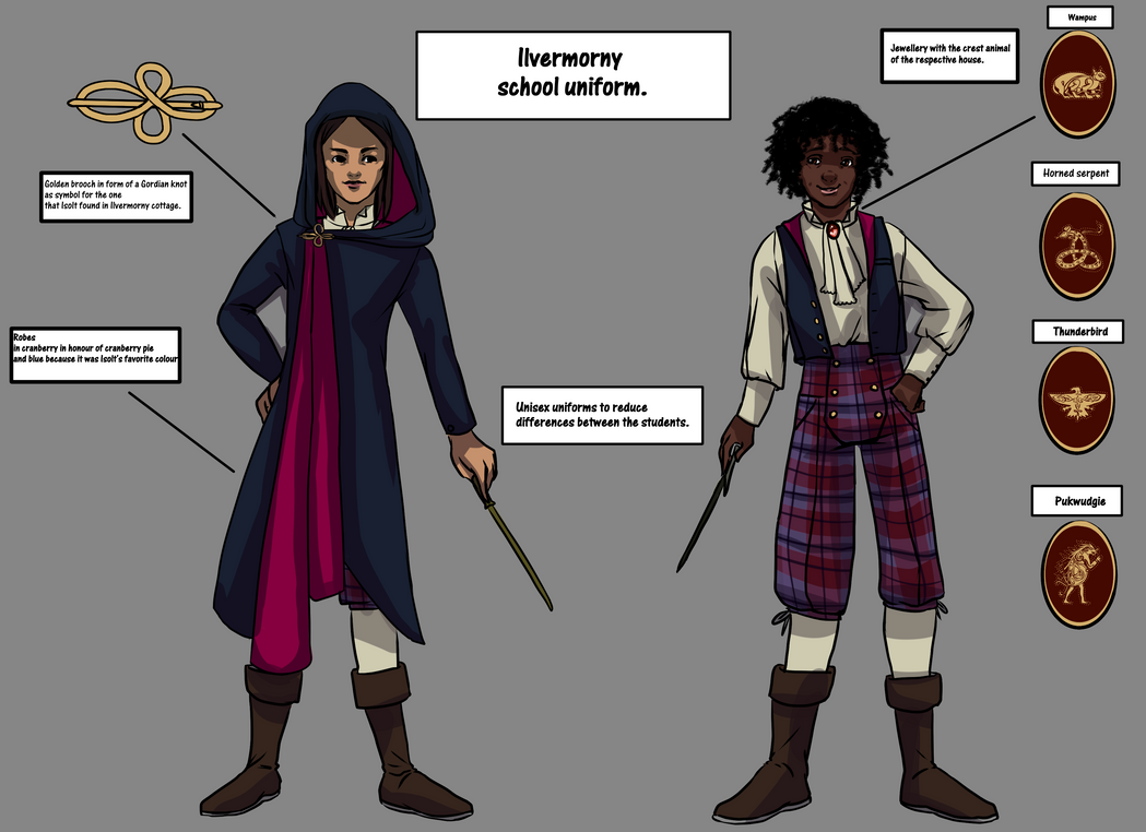 Ilvermorny School Uniform By MathildasDoubel