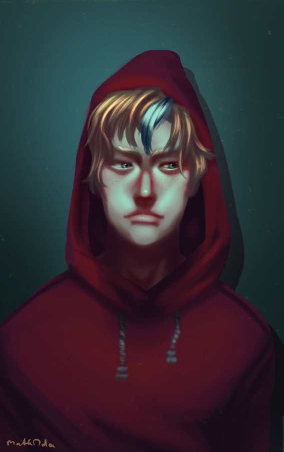 red hood by MathildasDoubel