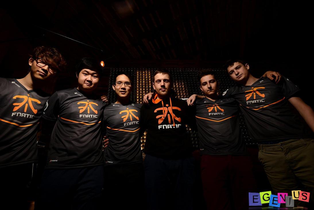 Team Fnatic League of Legends @ Botkamp Brussels by Egenius-Fr