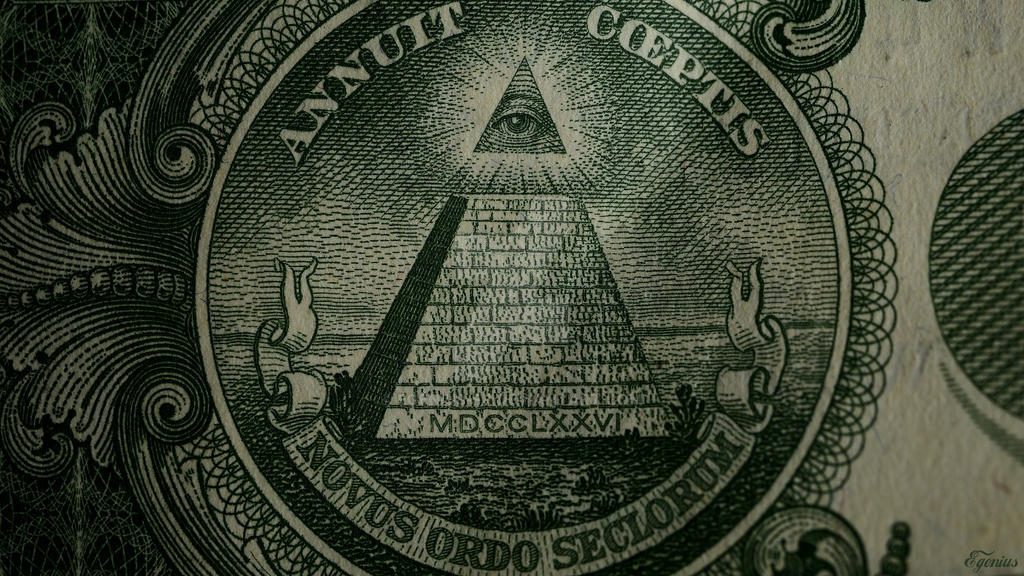 Backgroup Illuminati HD 1920x1080 One Dollar by Egenius-Fr