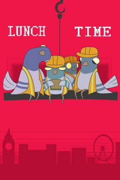 LUNCH TIME (Poster)