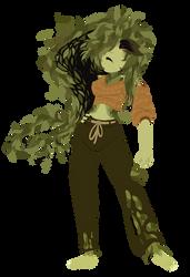 Batman TAS redesign- Poison ivy