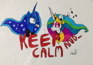 Keep calm and... by Frollo7797