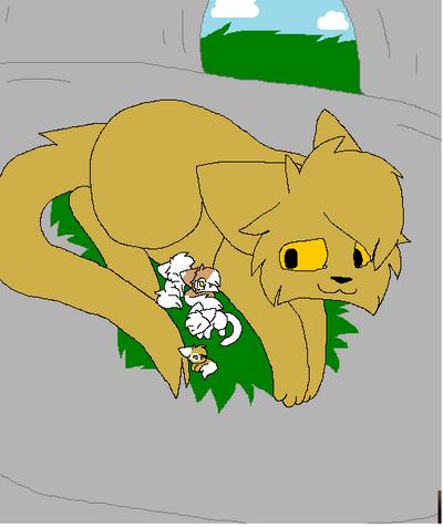 Warrior Cat Base Ms Paint