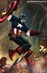 Captain America by Hamid91