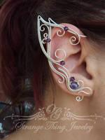 Elf ears Purple Joy by GladOlga