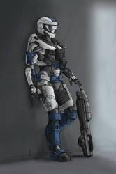 Alexis 314 in her GEN 2 armor
