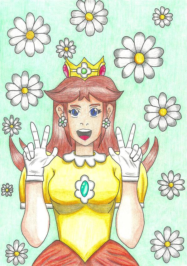 SML : Daisy - The kawaii queen of Sarasaland by GoldenFalchion