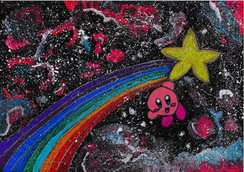 Kirby - Throught the galaxies of Pop-Star by GoldenFalchion