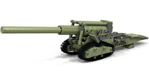 Lego 152mm gun M1935 (Br-2)