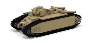 Lego Char B1 by Pegasus047