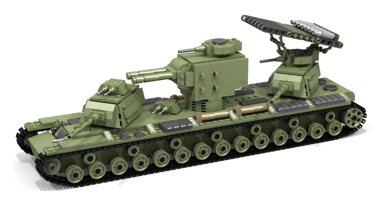 Military Tanks For Sale >> Lego KV-VI by Pegasus047 on DeviantArt