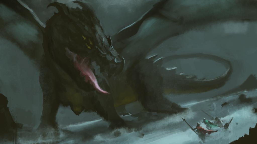 Dragon by MarosHarrer