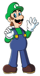 Luigi- Original art style