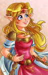 Princess Zelda - A Link Between Worlds