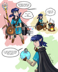ML Zelda Botw AU Marinette