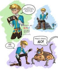 ML Zelda Botw AU Adrien