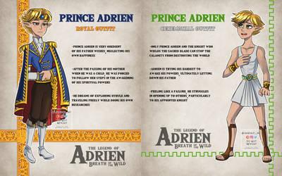 ML Zelda Botw AU Prince Adrien