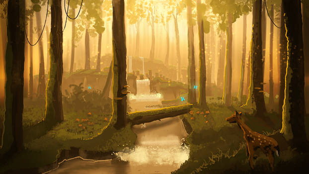 Blissful Forest