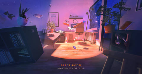 My room went to Space