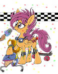 grown up scootaloo by dashiepie