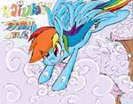 Rainbow Dash Attack by dashiepie