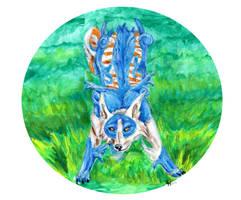 Ruby Blue by Aerona